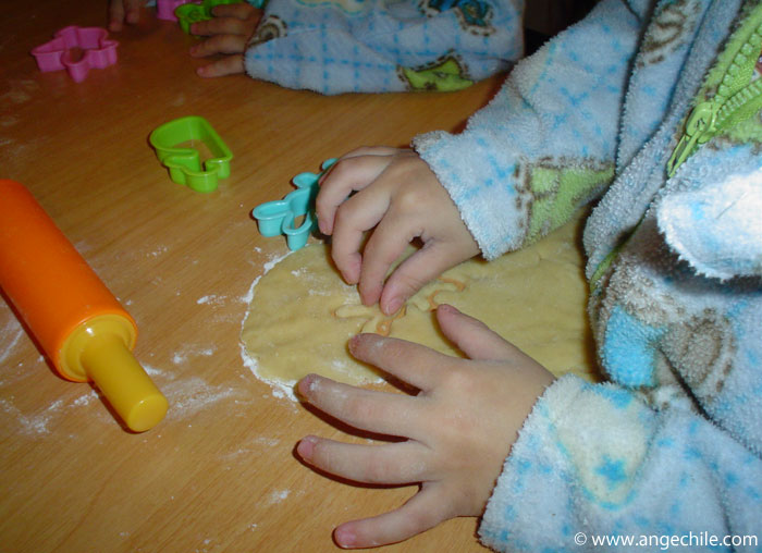 Kids cooking - Pastry Forms