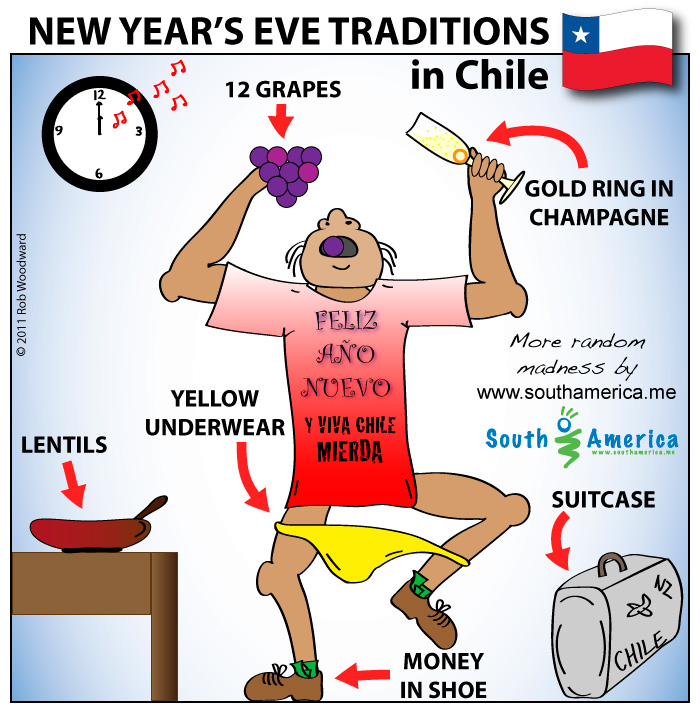 New Years Eve Superstitions