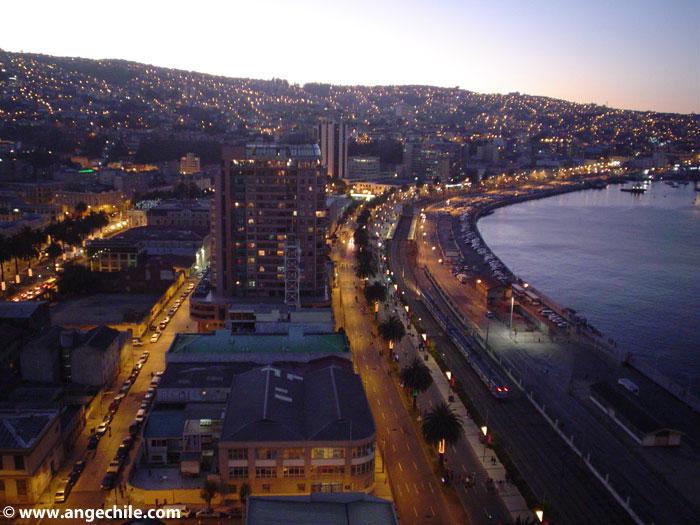 Atardecer en Valparaiso, Chile