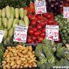 Verduras en venta