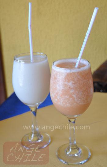 Jugo de guanabana y guayaba Ecuador