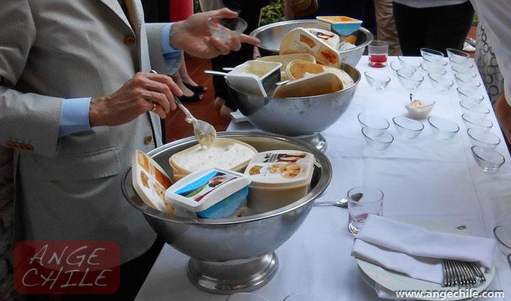 Lanzamiento de helado neocelandés en Chile