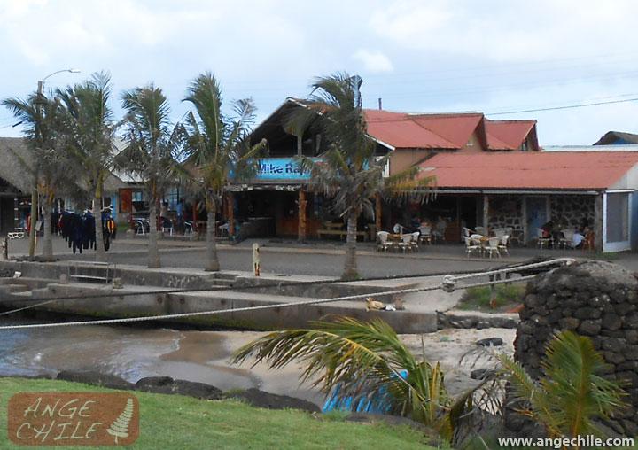 Local de Mike Rapu Buzo y Mikafe Helados en Isla de Pascua