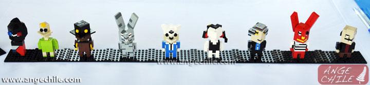 Los monos de 31 minutos en Lego