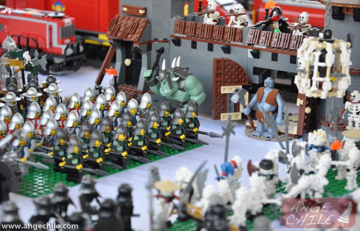 Batalla Medieval en Lego