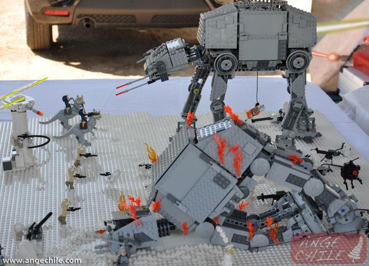 Batalla de hoth lego star wars